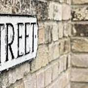 Street Sign Poster