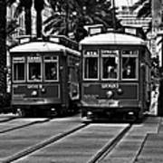 Streetcars New Orleans Poster