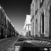 Streets Of Puebla 8 Poster