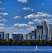 Striking Toronto Skyline Poster