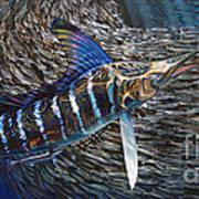 Striped Gem Poster by Jason Mathias