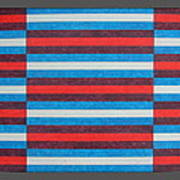 Striped Triptych No.2.03 Poster