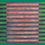 Striped Triptych No.5.03 Poster