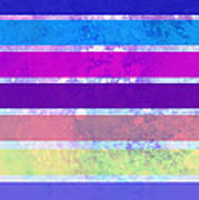 Stripes Abstract Art Poster