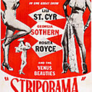 Striporama, Us Poster, From Left Lili Poster