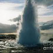 Strokkur Geyser - Iceland Poster
