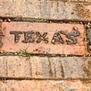 Stroll Down Texas Lane Poster