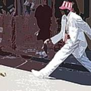 Strolling On Bourbon Street Poster