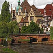 Strolling Through Strasbourg Poster