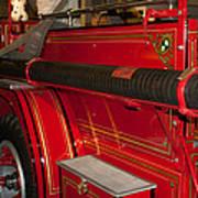 Studebaker Fire Truck Poster