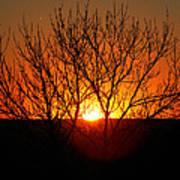 Stunning Stone Park Sunset Poster
