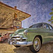 Stylish Chevy Poster