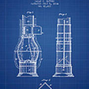 Submarine Telescope Patent From 1864 - Blueprint Poster