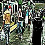 Subway Seranade Poster