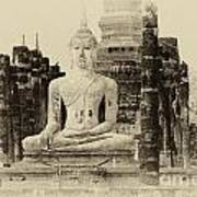Buddha Sukhothai Thailand 1 Poster