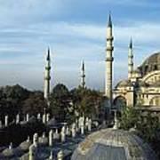 Suleymanhe Mosque, The Bizaar Quarter Poster
