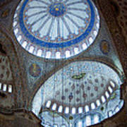 Sultan Ahmed Camii Blue Mosque Istanbul Turkey Poster
