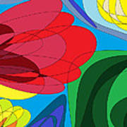 Summer Abstract Poster