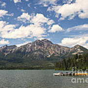 Summer At Pyramid Lake Poster