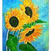 Summer Bloom Poster