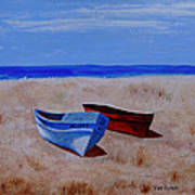 Summer Boats Poster