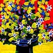 Summer Bouquet Poster
