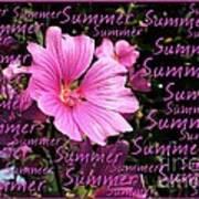 Summer Greetings Poster