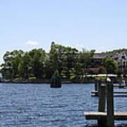Summer Impression Lake Winnipesaukee Poster