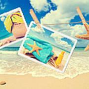 Summer Postcards Poster