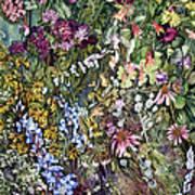 Summer Prairie I Poster by Helen Klebesadel