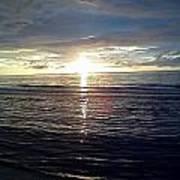 Summer Solstice Sunset Poster