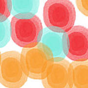 Summer Sorbet- Abstract Painting Poster