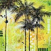 Summer Time In The Tropics By Madart Poster