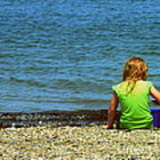 Summer Time On The Coast Of Maine Poster