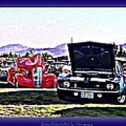 Summertime Class Car Show Poster
