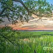 Summertime Sunset Poster