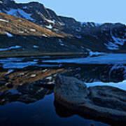 Summit Lake Calm Poster