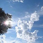 Sun And Cloudburst Poster