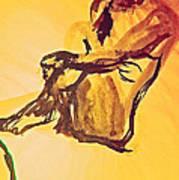 Sun Bath By Jrr Poster