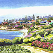 Sun Gold Point La Jolla Poster by Mary Helmreich