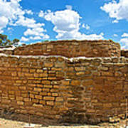 Sun Temple-1250 Ad In Mesa Verde National Park-colorado Poster