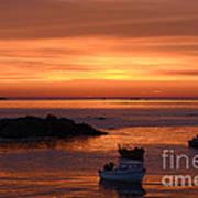Sundown In Guernsey Poster