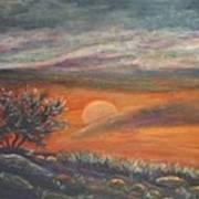 Sundown In Vail Az Poster