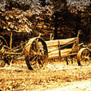 Sundown On The Honey Dew Wagon Poster