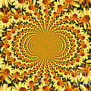 Sunflower Dance Poster