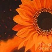 Sunflower Mystique Poster