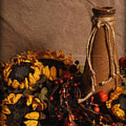 Sunflowers And Vase Poster