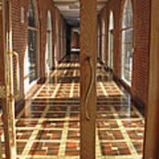 Sunlit Corridor Poster