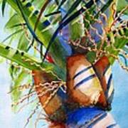 Sunlit Palm Poster