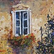 Sunlit Window Poster